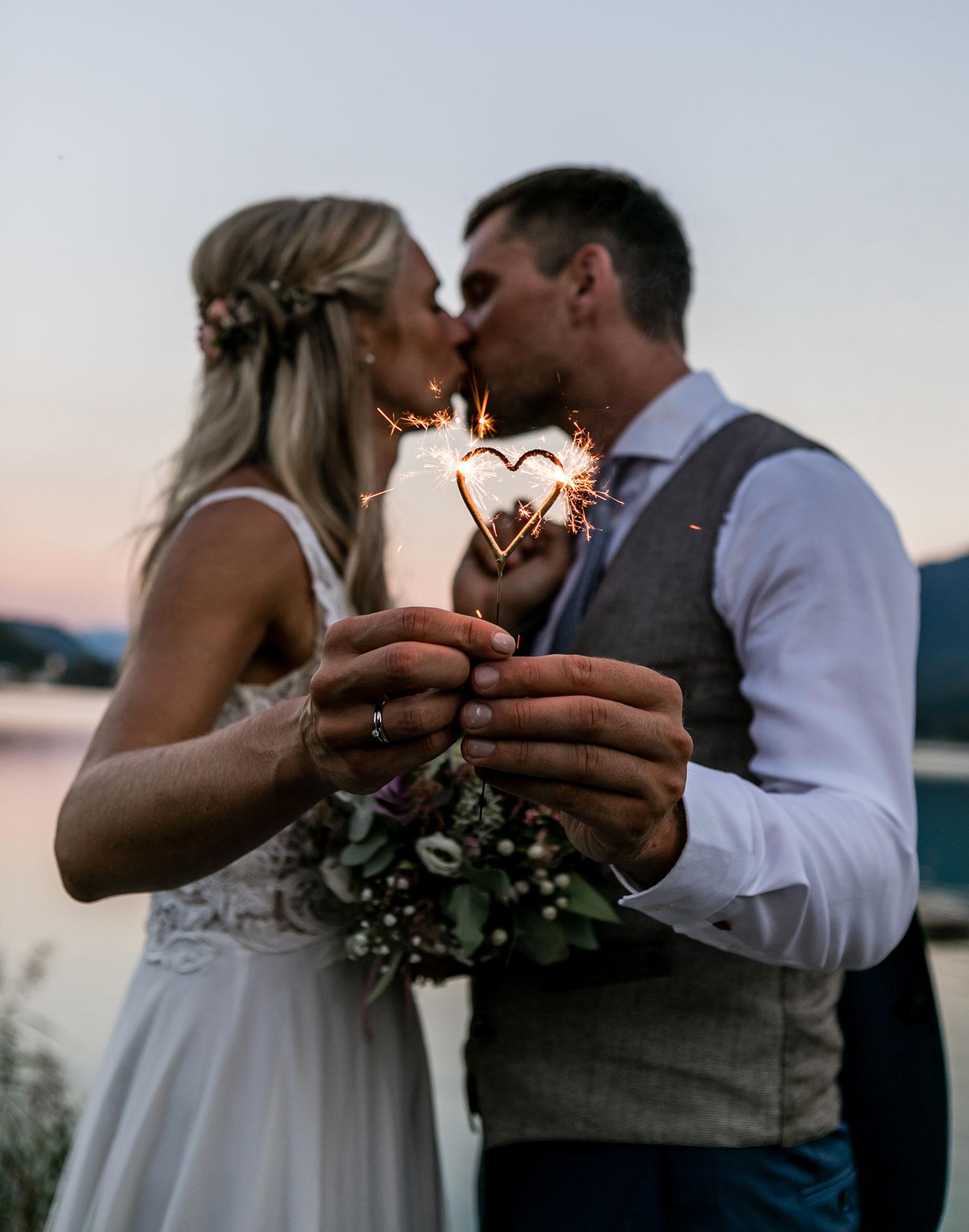 Die wunderschöne Hochzeit von Kathrin und Lukas in Kärnten